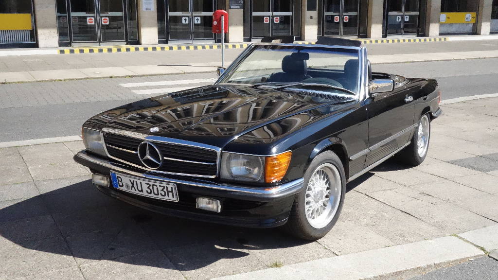 mercedes 300 sl das oldtimer cabrio der 70er jahre. Black Bedroom Furniture Sets. Home Design Ideas
